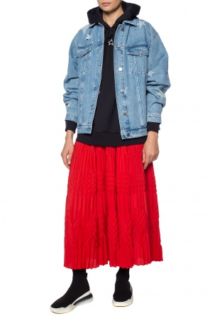 Pleated skirt with a frill od Givenchy