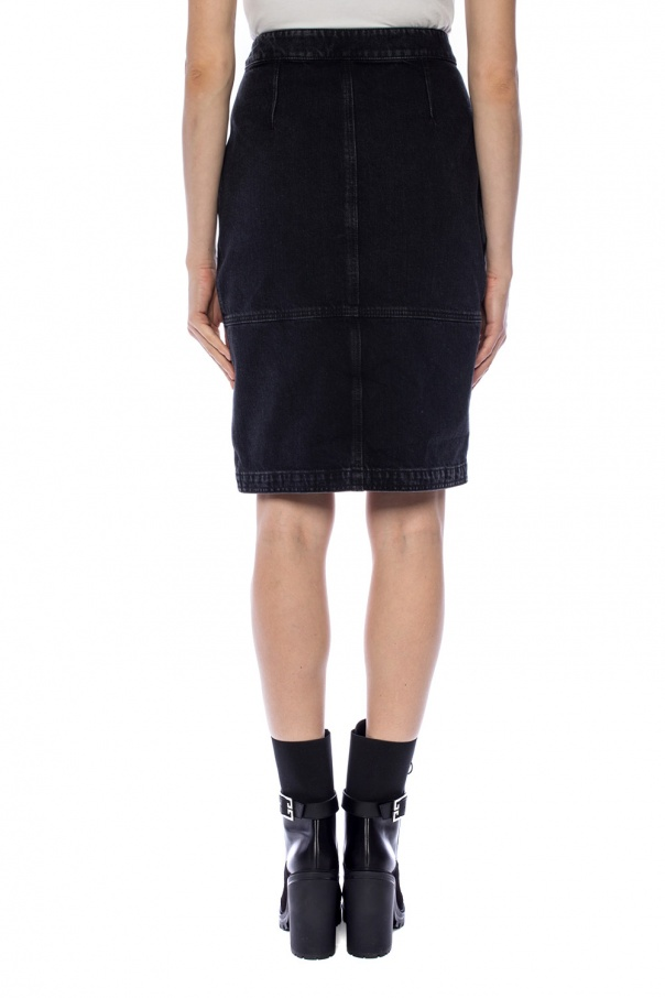Denim skirt with pockets od Givenchy