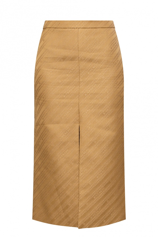 Givenchy Logo skirt