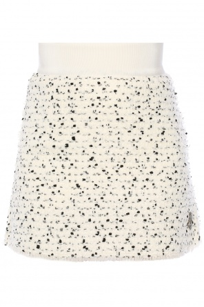 Short tweed skirt od Moncler Gamme Rouge