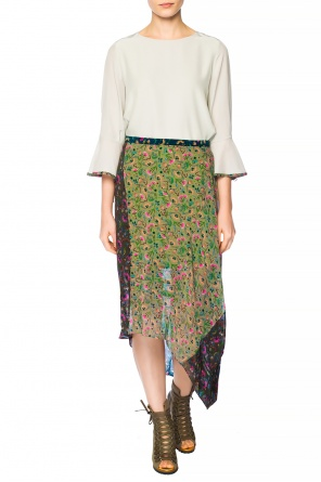 Asymmetrical patterned skirt od Chloe