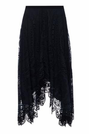 Lace-trimmed skirt od Chloe