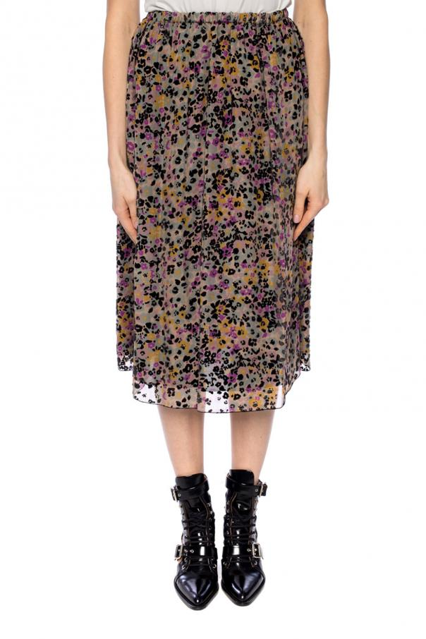 Floral silk skirt od See By Chloe