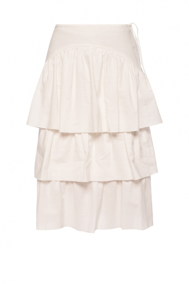 See By Chloe Ruffle skirt