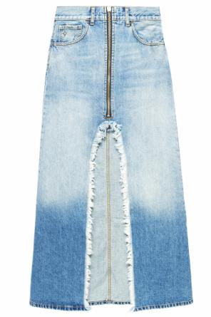 Long denim skirt od Marcelo Burlon