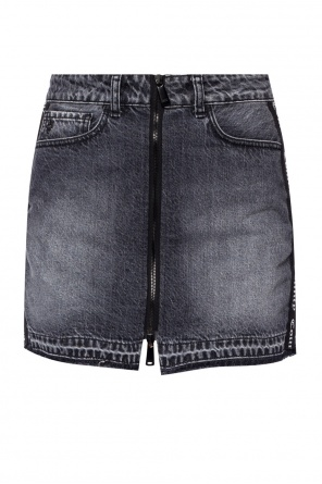 Side-stripe denim skirt od Marcelo Burlon
