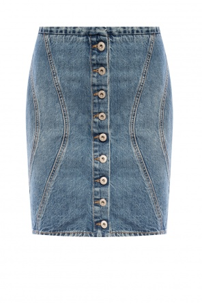 Denim skirt od Marcelo Burlon