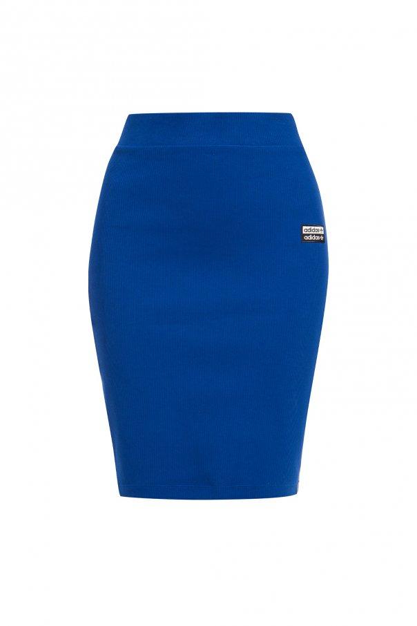 f366bcfd0a2b8 Ribbed skirt with logo ADIDAS Originals - Vitkac shop online