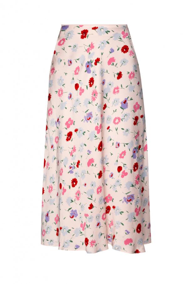 Samsøe Samsøe Skirt with floral print