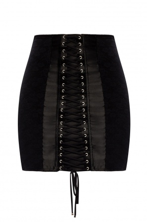 Skirt with lacing od Dolce & Gabbana