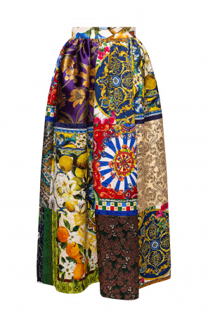 Patterned skirt od Dolce & Gabbana