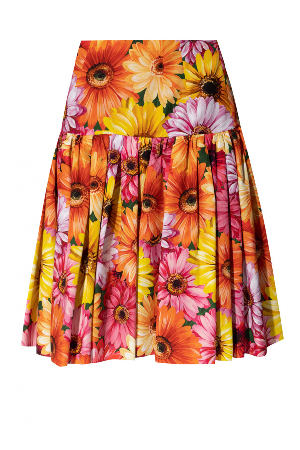 Dolce & Gabbana Floral-printed skirt