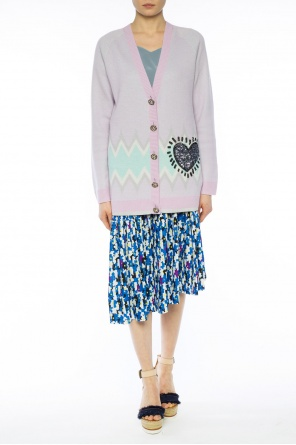 Printed pleated skirt od Kenzo
