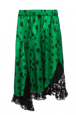 Lace-trimmed skirt od Kenzo