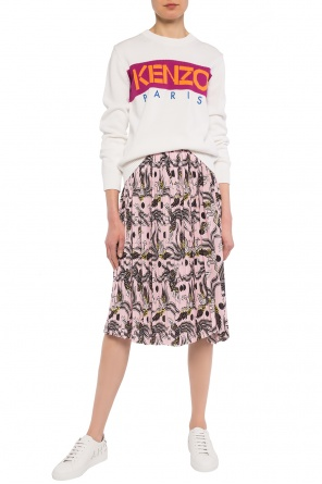 Patterned skirt with pleats od Kenzo
