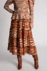 Ulla Johnson Silk ruffled skirt