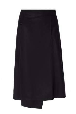 Raw edge asymmetrical skirt od Acne