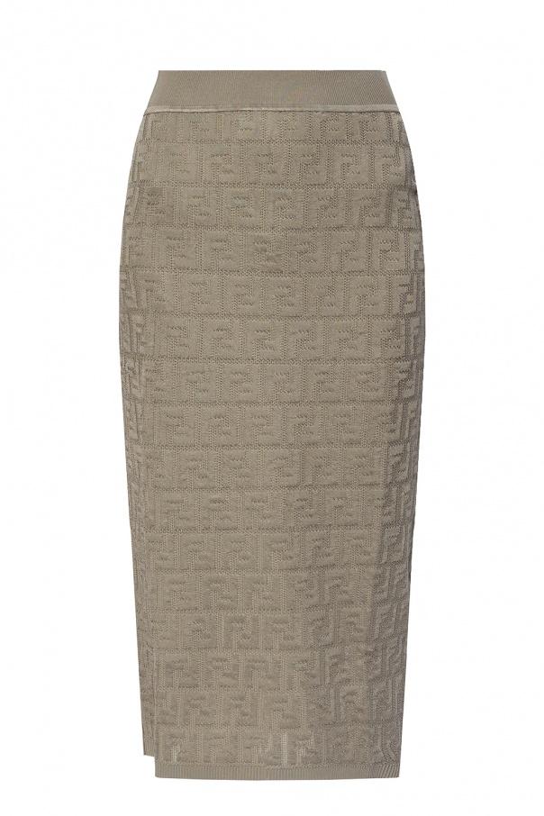 Fendi Skirt with logo