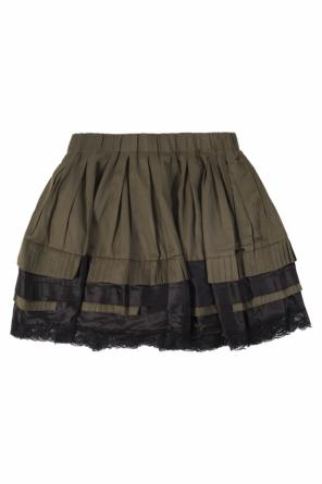 Lace-trimmed skirt od Diesel