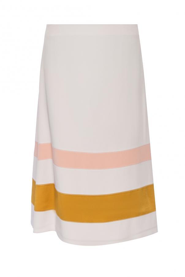 Skirt with stripes od Marni