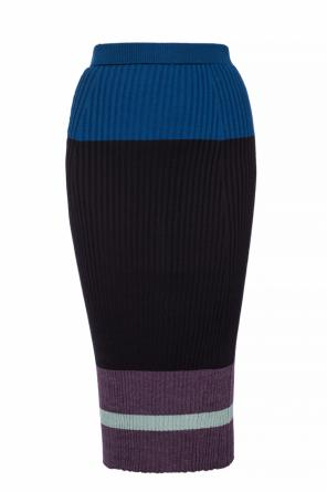 Skirt with a stripe motif od Marni
