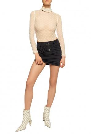Asymetryczna spódnica od MISBHV