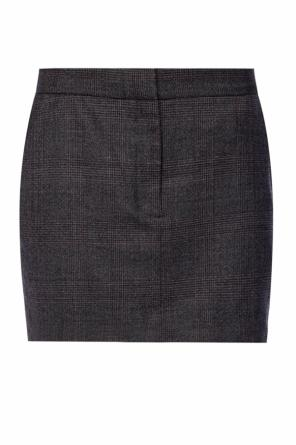 'harriet check' skirt with a checkered motif od AllSaints