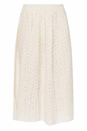 Braided skirt with ruffle od JIL SANDER