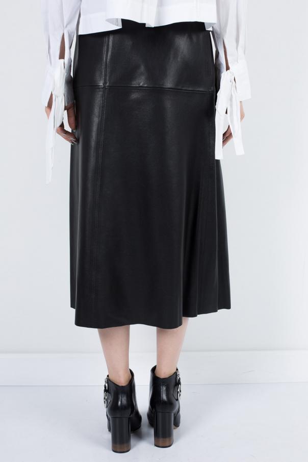 leather envelope skirt marant vitkac shop