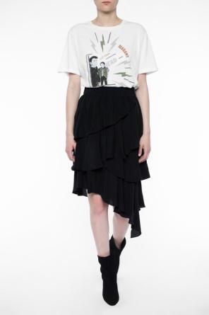 Asymmetrical skirt with ruffles od Isabel Marant Etoile