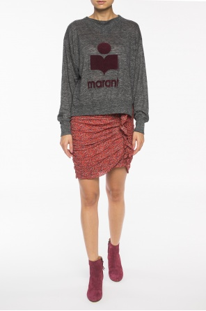 Short patterned skirt od Isabel Marant Etoile