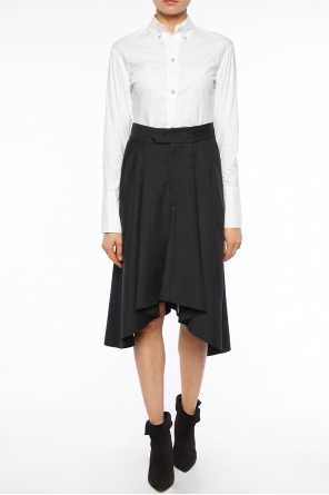 Asymmetrical checked skirt od Isabel Marant