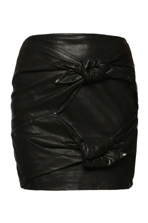 Lacing detail leather skirt od Isabel Marant Etoile