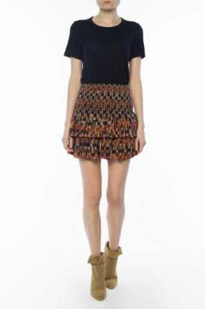 Patterned skirt with ruffles od Isabel Marant Etoile