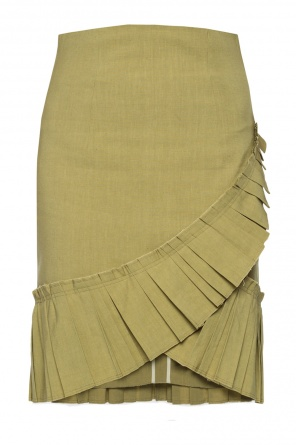 Skirt with pleated inserts od Isabel Marant