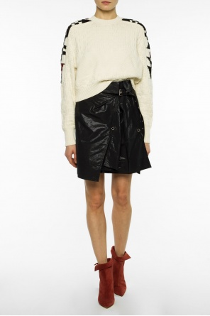 Belted waist layered skirt od Isabel Marant