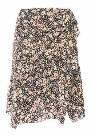 Patterned skirt with ruffle od Isabel Marant