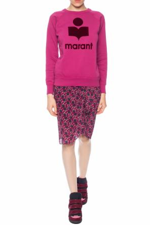 Skirt with a floral motif od Isabel Marant
