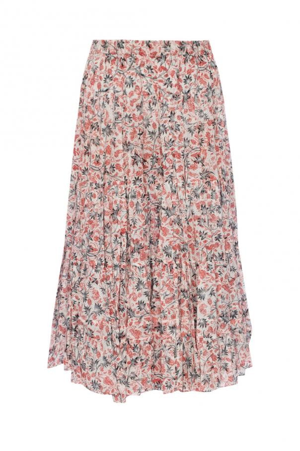 Ruffled Skirt Isabel Marant Etoile Vitkac Shop Online