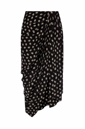 Silk skirt with gathers od Isabel Marant
