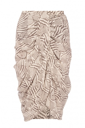Patterned skirt with gathers od Isabel Marant