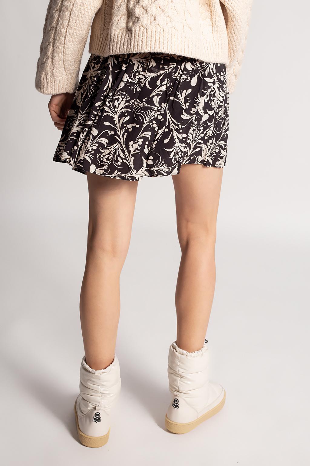 Isabel Marant Etoile Floral-motif skirt