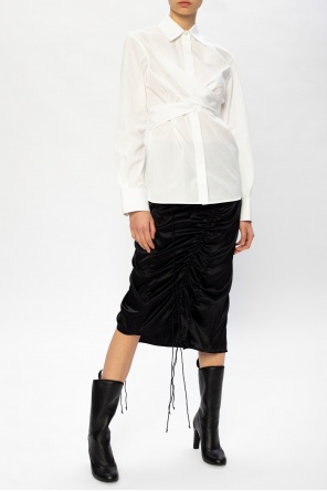 Ruched skirt od Helmut Lang
