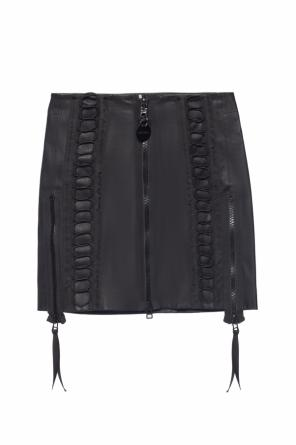 Short leather skirt od Diesel