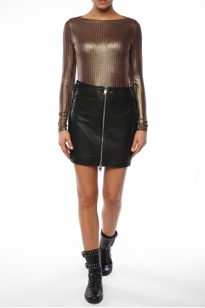 Leather skirt od Diesel