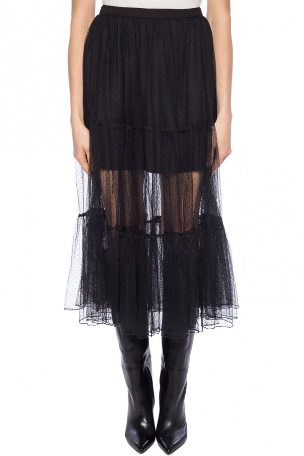 'lali' ruffle dress od AllSaints