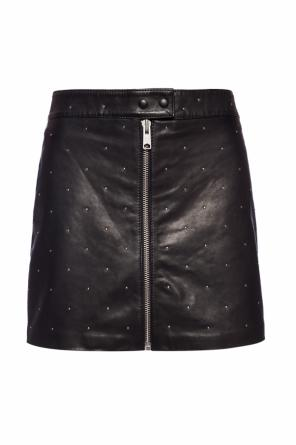 'lena' leather skirt od AllSaints