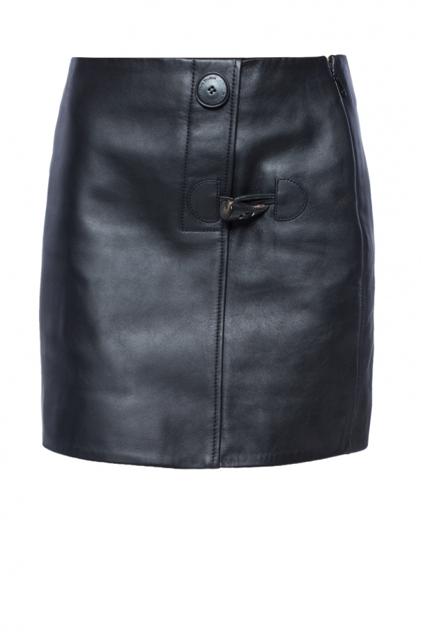 Leather skirt od Acne
