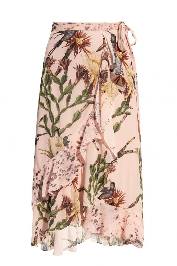 AllSaints 'Luca' printed skirt