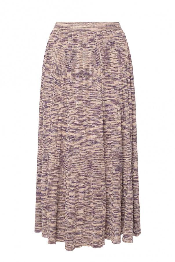 Ulla Johnson 'Marlie' skirt with lurex trim